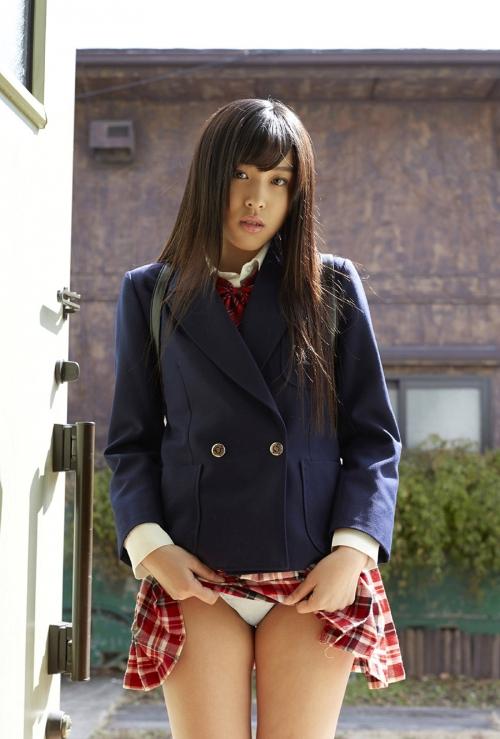 スカートめくり コスプレ 制服 07