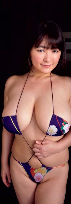柳瀬早紀 Iカップ グラビア 巨乳 59