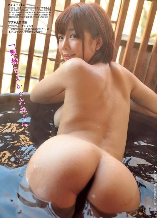 紗倉まな Fカップ AV女優 美尻 01