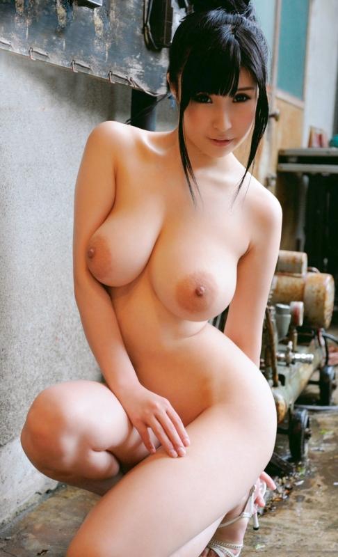 乳首 巨乳 19