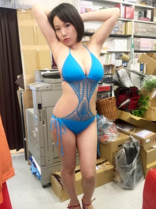 澁谷果歩 Jカップ AV女優 パイパン 08