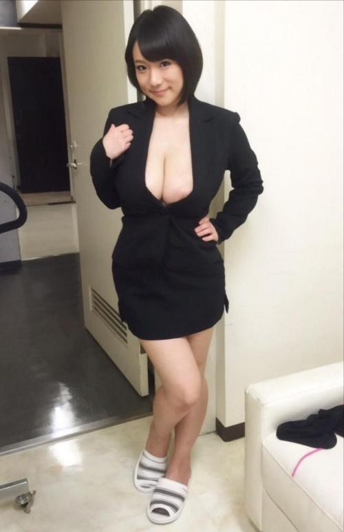 澁谷果歩 Jカップ AV女優 パイパン 18
