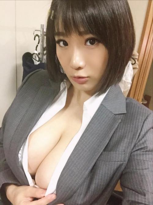 澁谷果歩 Jカップ AV女優 パイパン 19