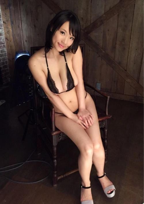 澁谷果歩 Jカップ AV女優 パイパン 41