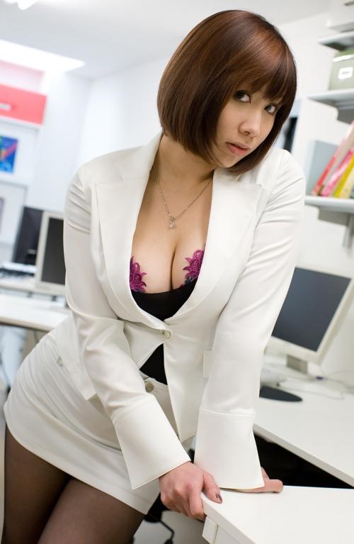 OL スーツ 着エロ 36
