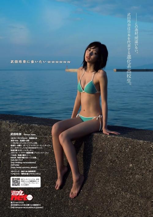 武田玲奈 Bカップ モデル 女優 グラビア 08