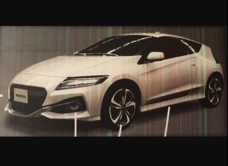 Honda new CR-Z 2016