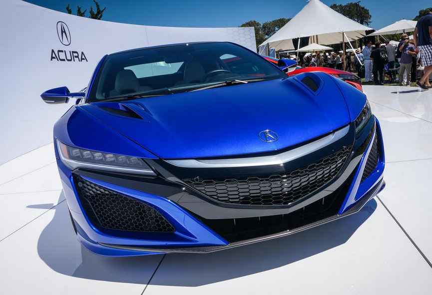 ホンダ NSX 市販モデル 青