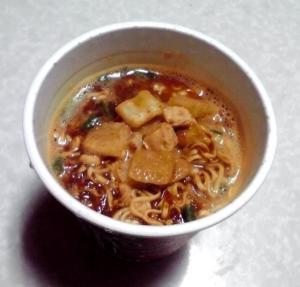 カレーの極み チキンカレー 濃厚辛口NOODLE(できあがり)
