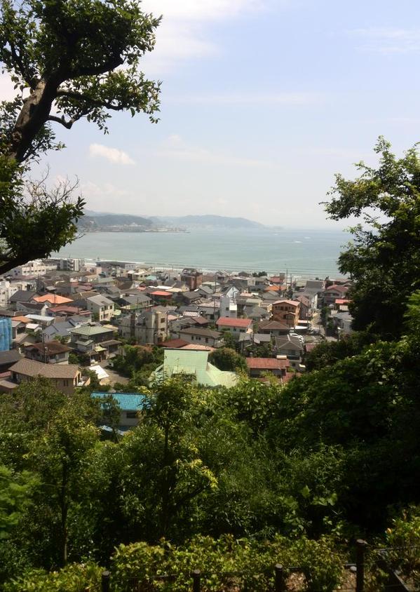 長谷寺から眺めた風景