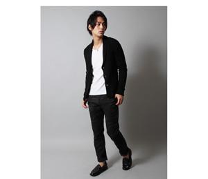 白黒 モノトーンコーデ メンズ秋冬ファッション2015-2