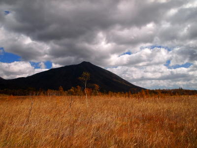 男体山と北戦場ヶ原