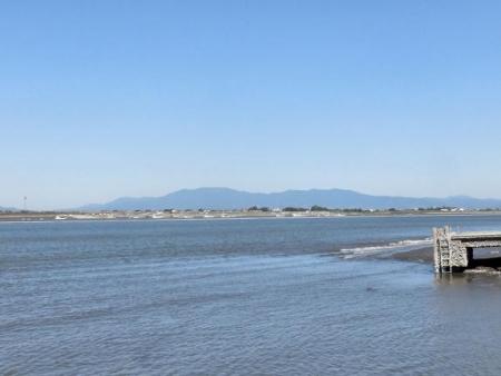筑後川河口と天山 004