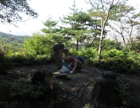 清水山清掃 110