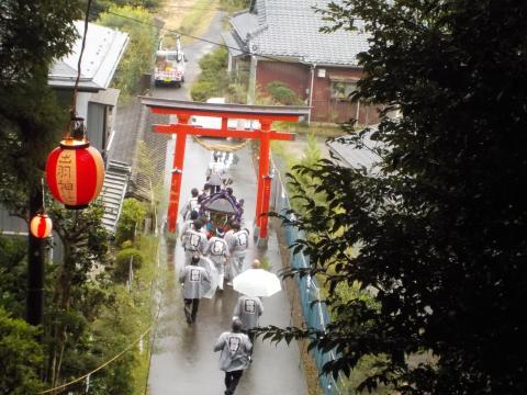 出羽神社例大祭 1