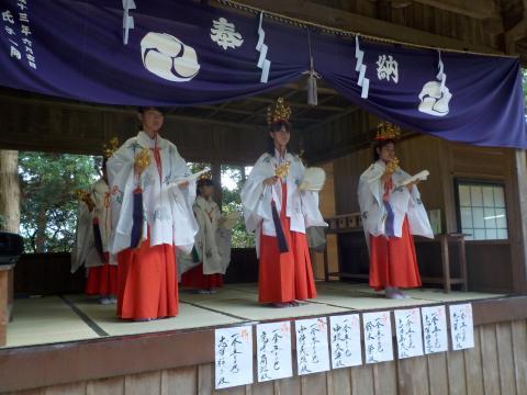出羽神社 稚児舞