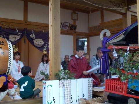 出羽神社例大祭 3