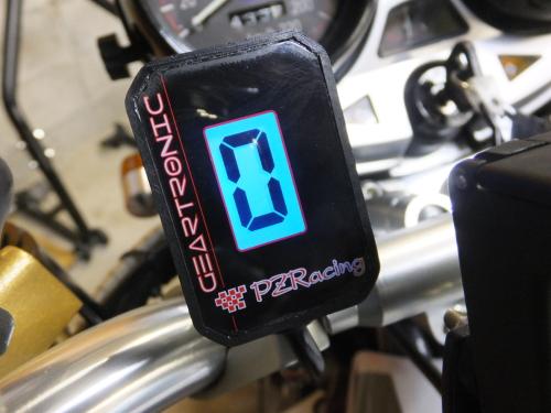 ゼファー1100にPZレーシング・ギアインジケーター