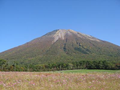 大山の秋 10