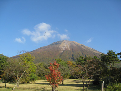 大山の秋 12