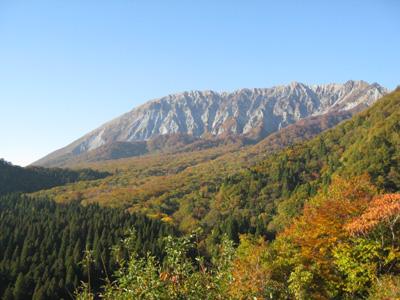大山の秋 22