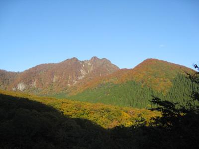 大山の秋 24