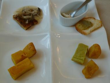 野菜の前菜