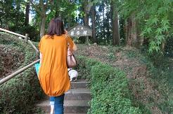 9-1ママうた階段