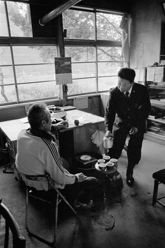 蒲原鉄道 七谷駅駅務室1 1982年10月3日 16bitAdobeRGB原版take1b