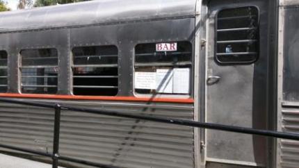 電車のバー