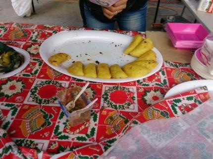 コロンビアの食べ物