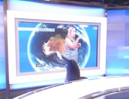 ニュースと天気予報