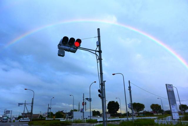 201509台風の虹 (1)