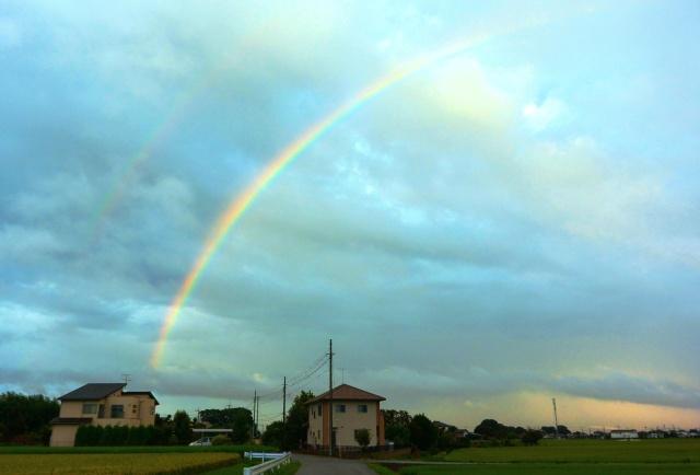 201509台風の虹 (2)