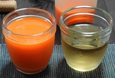 人参・りんご・レモンジュース &麦茶