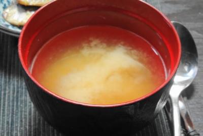 シンプルな味噌汁