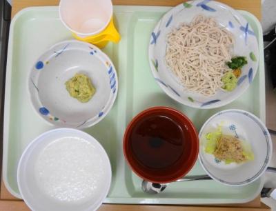 11日 昼食