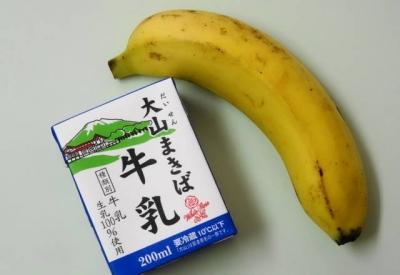 朝食 バナナ