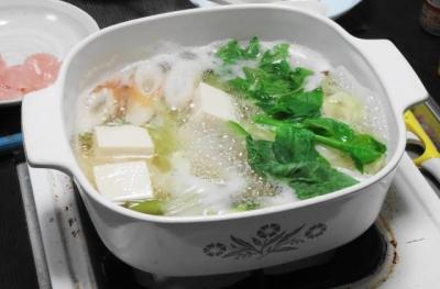 湯豆腐 三変化 ベースの鍋