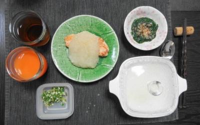 鮭の塩焼き風 お粥膳