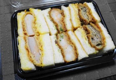 なおらいのサンドイッチ