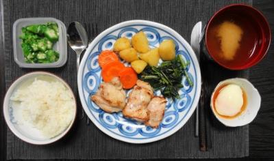 鶏モモのソテー和風洋食
