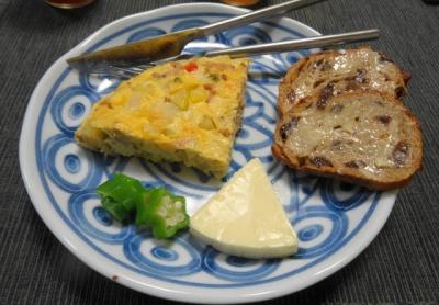 フリッタータ&チーズ プレート