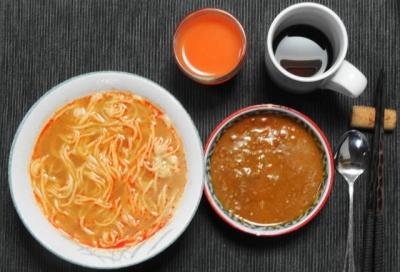 キーマ担々麺 セット