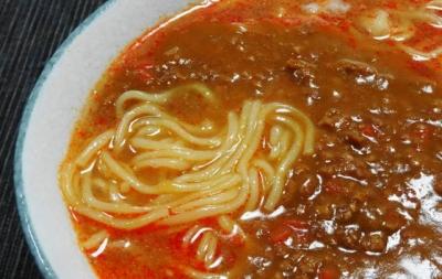 キーマ担々麺UP