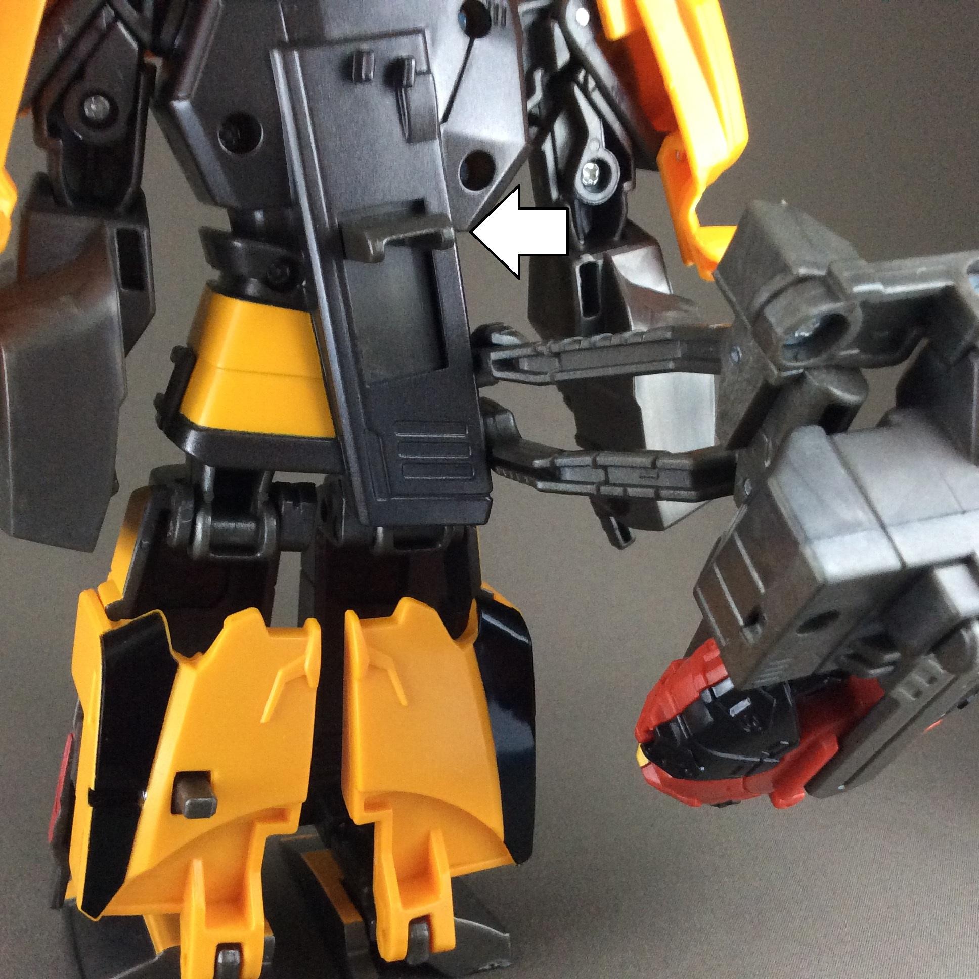 MSドリフト ロボットモード(5)