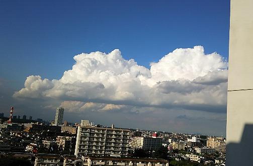 9月の入道雲