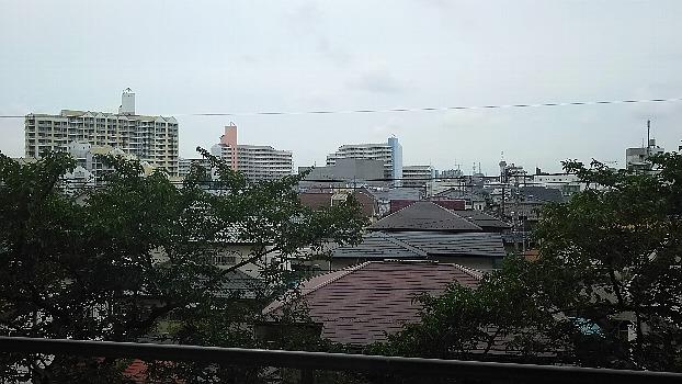 病院からの風景