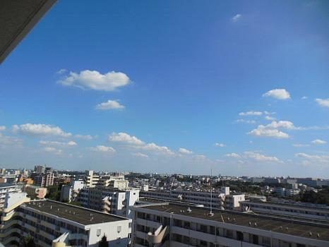 9月の青空2