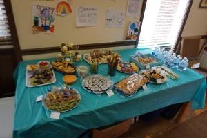 食べ物テーブル2